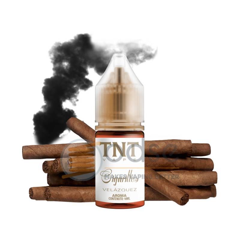 VELASQUEZ AROMA CIGARILLOS TNT VAPE - Tabaccosi