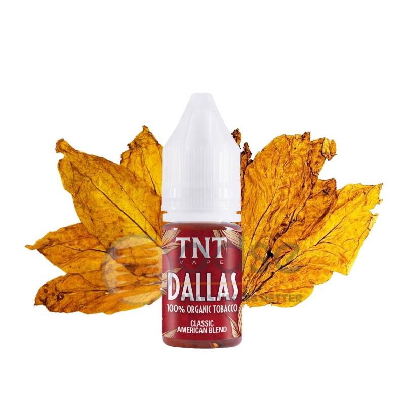 DALLAS AROMA TOTAL NATURAL TOBACCO TNT VAPE - Tabaccosi