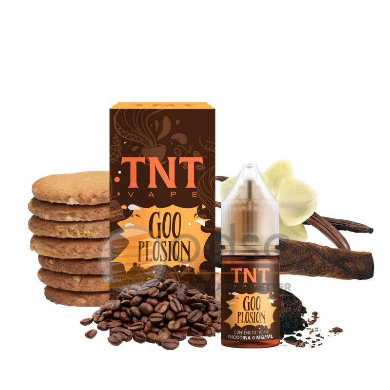 GOO PLOSION LIQUIDO I MAGNIFICI 7 TNT VAPE 10 ML - Tabaccosi