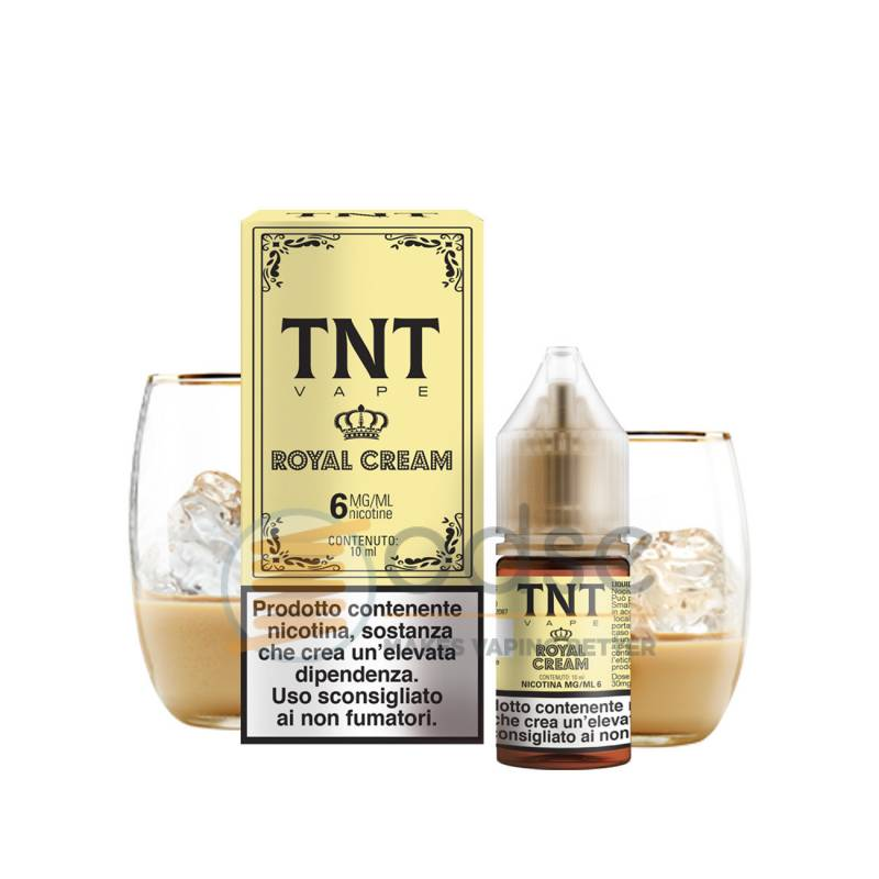 ROYAL CREAM LIQUIDO PASTRY TNT VAPE 10 ML - Cremosi