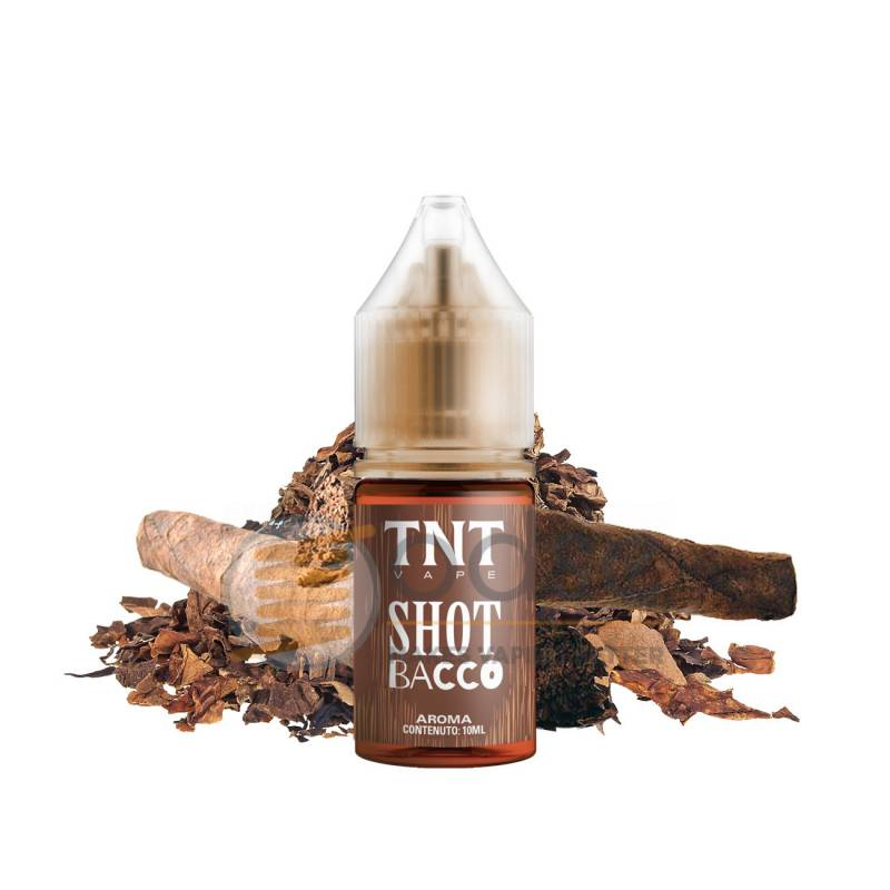 SHOT BACCO AROMA I MAGNIFICI 7 TNT VAPE - Tabaccosi