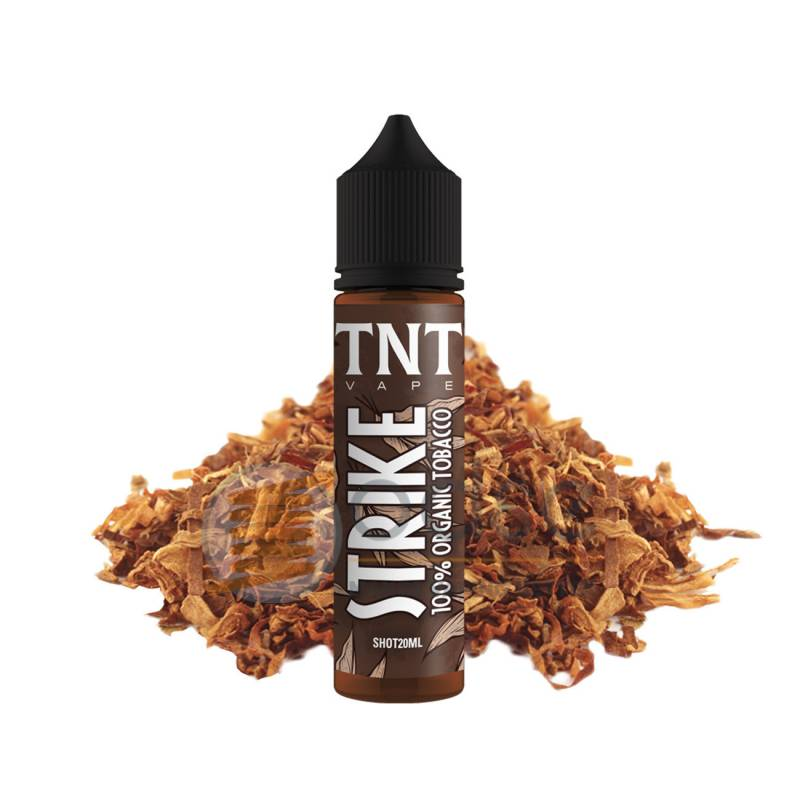 STRIKE SHOT TOTAL NATURAL TOBACCO TNT VAPE - Tabaccosi