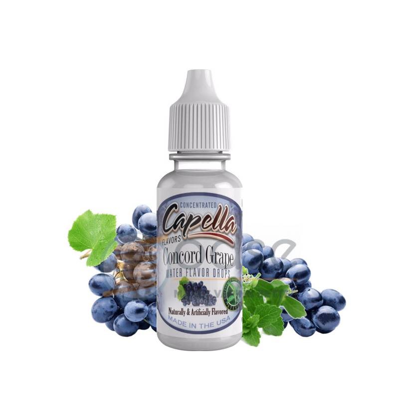 CONCORD GRAPE WITH STEVIA AROMA CAPELLA - Fruttati
