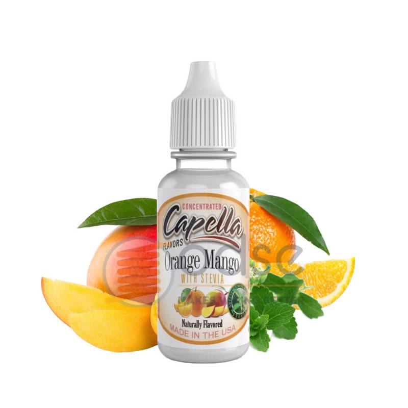 ORANGE MANGO WITH STEVIA AROMA CAPELLA - Fruttati