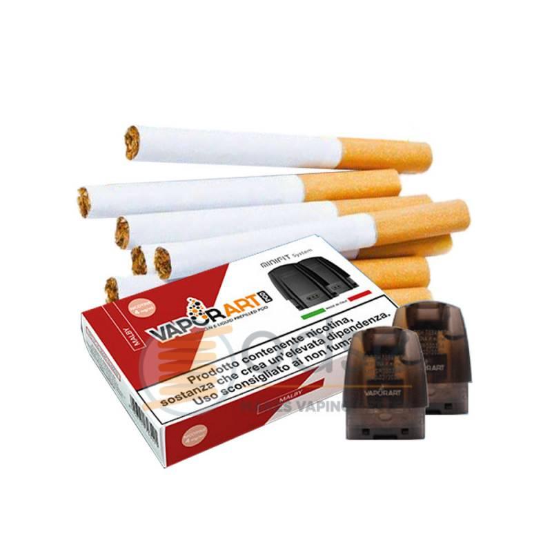 MALBY MINIFIT POD VAPORART RESISTENZA JUSTFOG PRECARICATA - Tabaccosi
