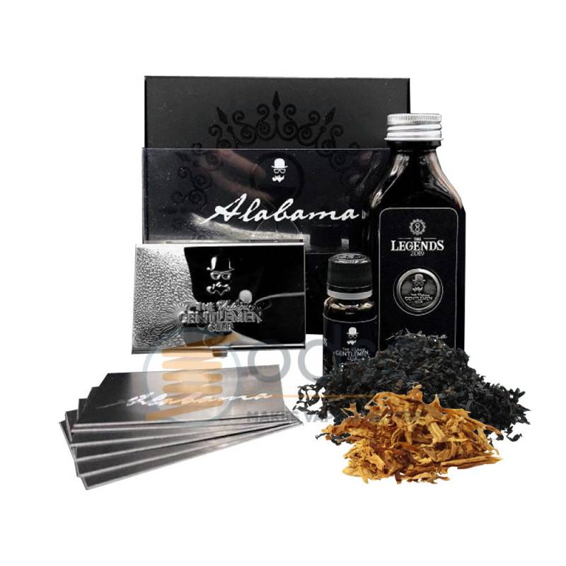 ALABAMA AROMA THE LEGENDS THE VAPING GENTLEMEN CLUB - Tabaccosi