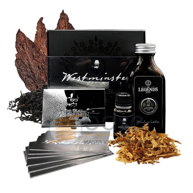 WESTMINSTER AROMA THE LEGENDS THE VAPING GENTLEMEN CLUB - Tabaccosi
