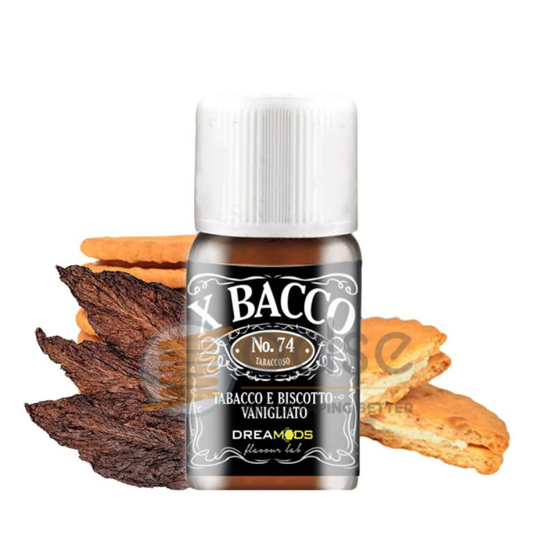 X BACCO N°74 AROMA DREAMODS - Tabaccosi