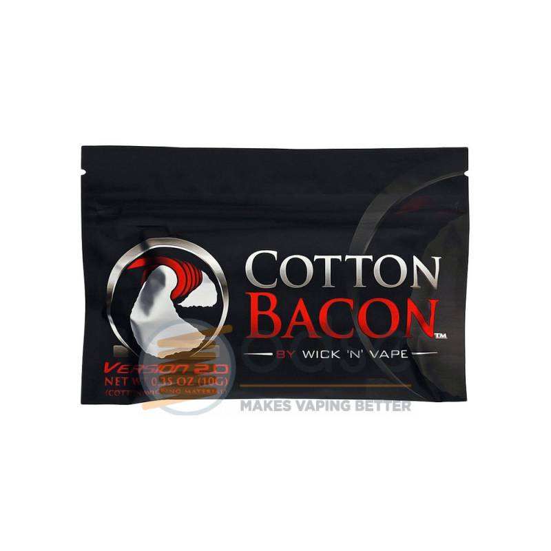 COTTON BACON V2 WICK 'N' VAPE - FIBRE E COTONE
