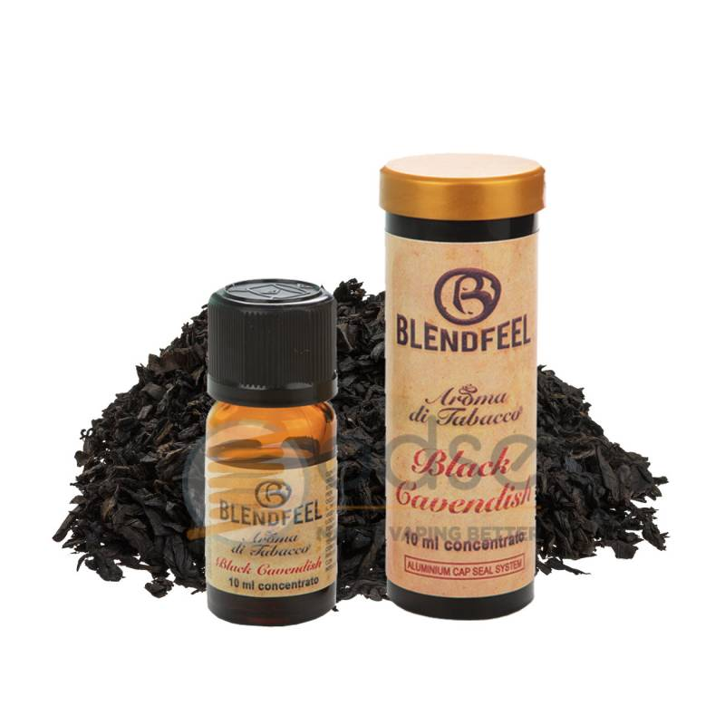 BLACK CAVENDISH AROMA SPECIAL BLENDS BLENDFEEL - Tabaccosi