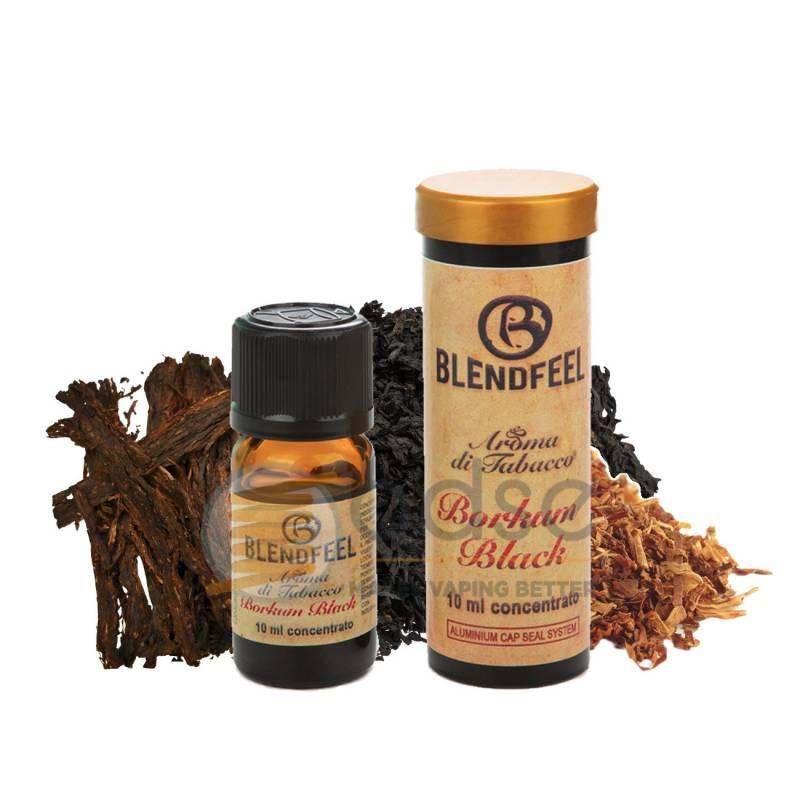 BORKUM BLACK AROMA SPECIAL BLENDS BLENDFEEL - Tabaccosi