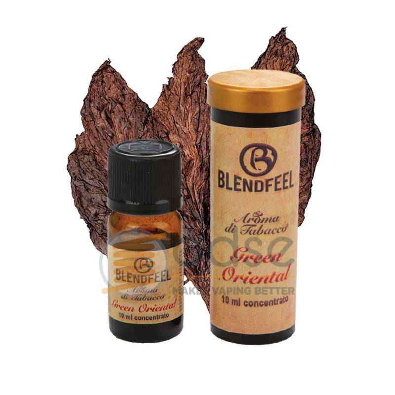 GREEN ORIENTAL AROMA SPECIAL BLENDS BLENDFEEL - Tabaccosi