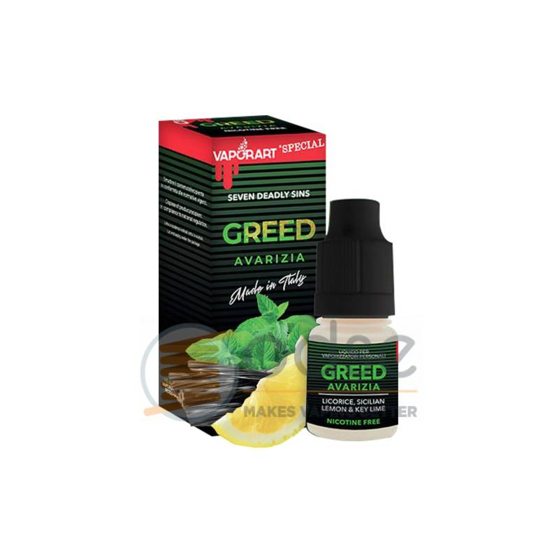 GREED LIQUIDO VAPORART 10 ML