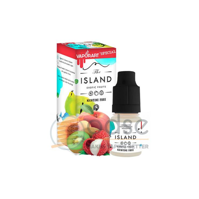 THE ISLAND LIQUIDO VAPORART 10 ML - Freschi