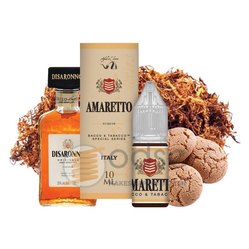 AMARETTO LIQUIDO BACCO & TABACCO AZHAD'S ELIXIRS 10 ML - Tabaccosi