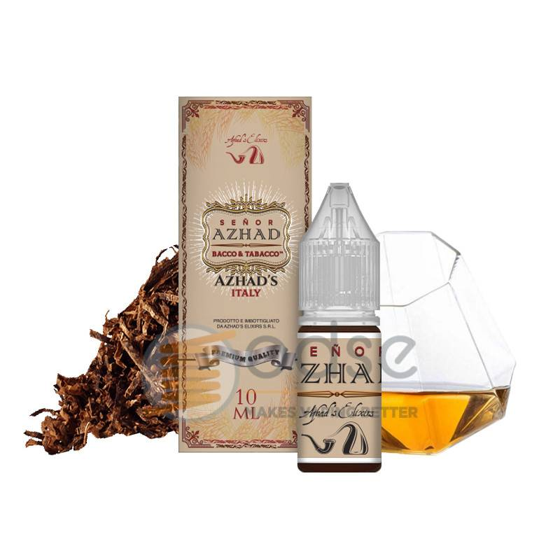 SENOR AZHAD LIQUIDO BACCO & TABACCO AZHAD'S ELIXIRS 10 ML - Tabaccosi