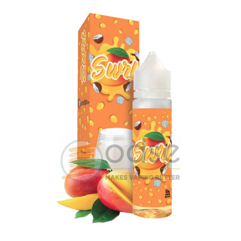ORANGE SWIRL PREMIX EJUICE DEPO - Mix'n'Vape