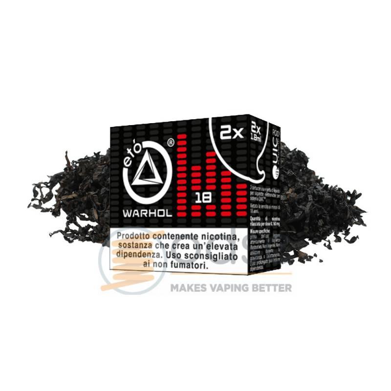 WARHOL ETÓ QUIC ONE POD DEA PRECARICATA - Tabaccosi
