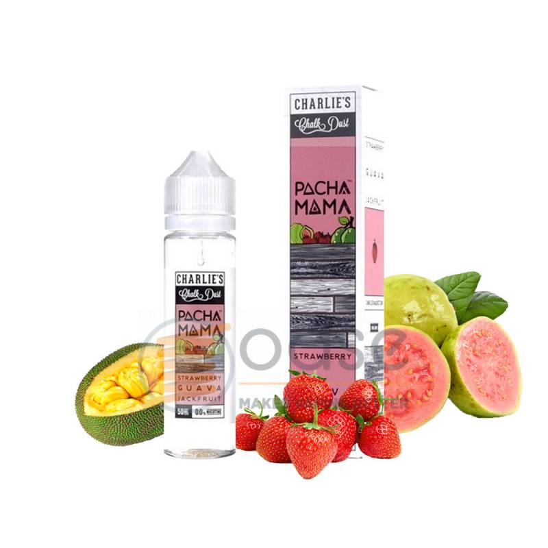 STRAWBERRY GUAVA JACKFRUIT AROMA MEDIA CONCENTRAZIONE PACHAMAMA - Mix'n'Vape