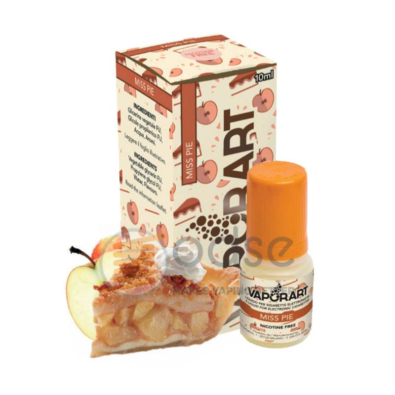 MISS PIE LIQUIDO VAPORART 10 ML - Cremosi