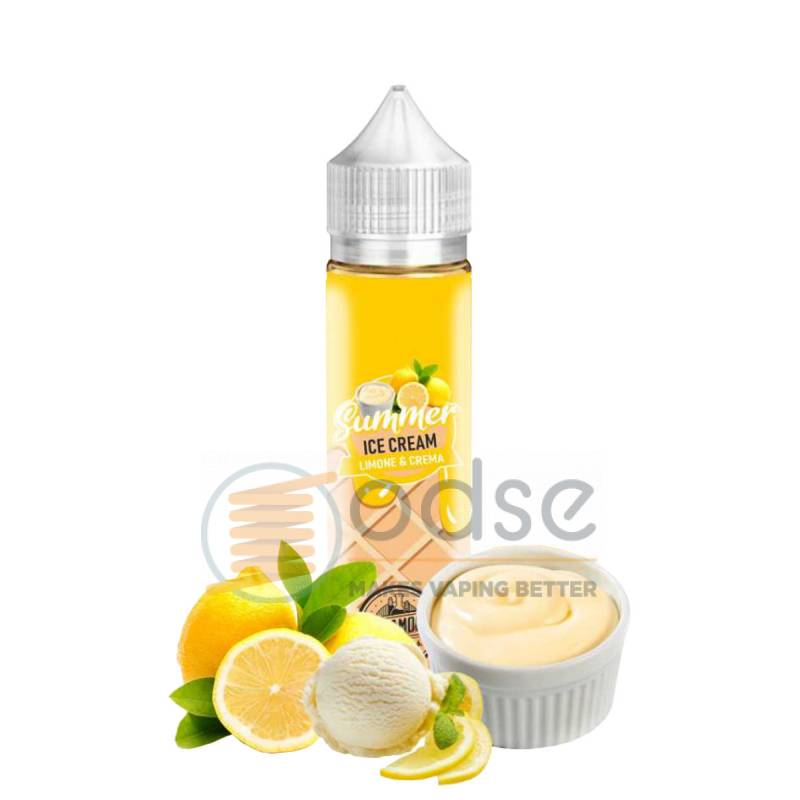 LIMONE CREMA SHOT SUMMER ICE CREAM DREAMODS - Cremosi