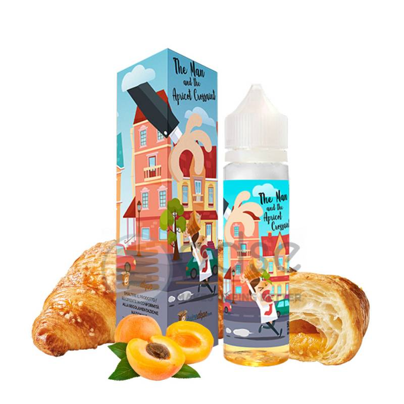 THE MAN AND THE APRICOT CROISSANT PREMIX EJUICE DEPO - Cremosi