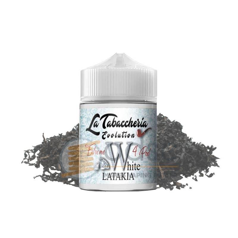 WHITE LATAKIA SHOT EXTREME 4POD LA TABACCHERIA - Tabaccosi