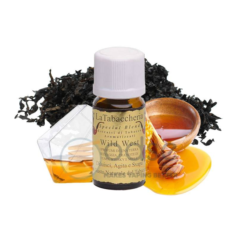 WILD WEST AROMA SPECIAL BLEND LA TABACCHERIA - Tabaccosi