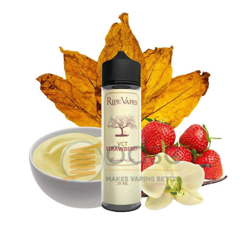 VCT STRAWBERRY SHOT RIPE VAPES - Tabaccosi
