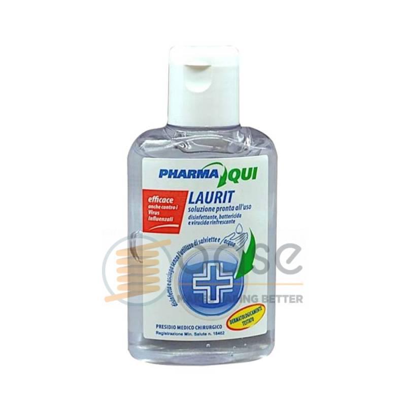 GEL DISINFETTANTE MANI LAURIT 80 ML - Igiene Personale