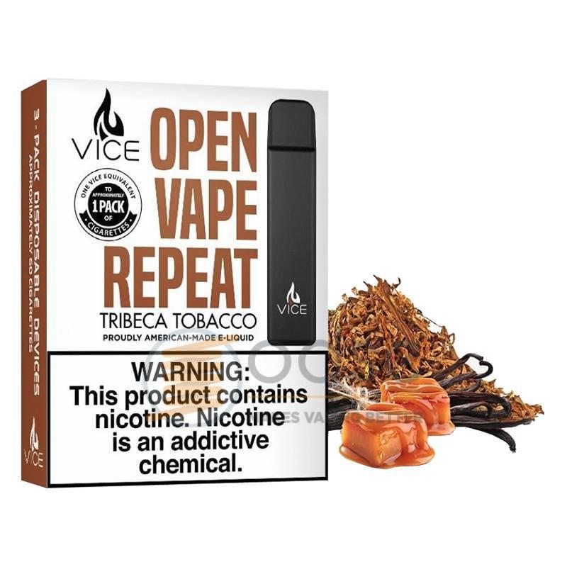 TRIBECA VICE POD HALO 3 PEZZI - Tabaccosi