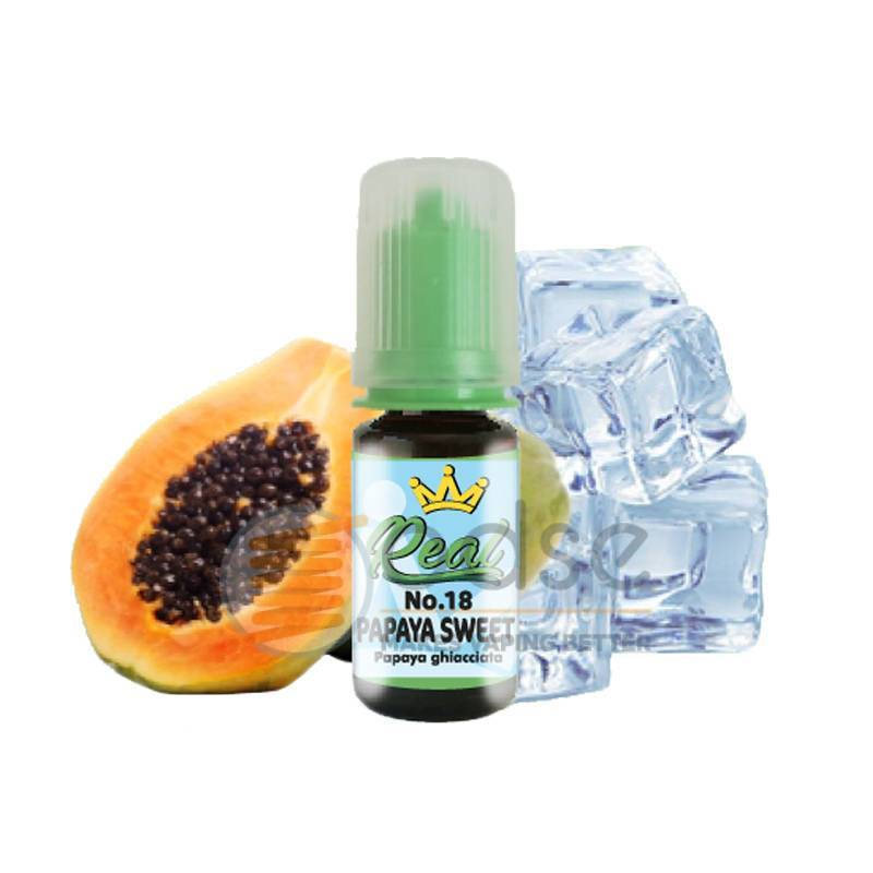 PAPAYA SWEET N°18 AROMA REAL FARMA - Freschi