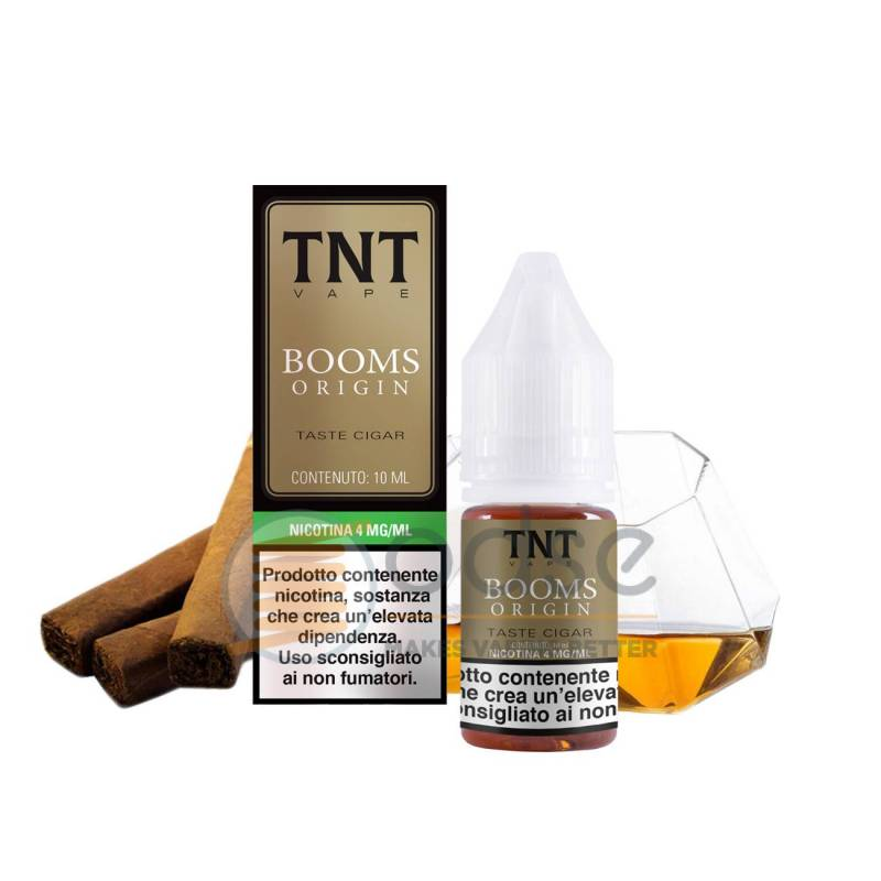 BOOMS ORIGIN LIQUIDO TNT VAPE 10 ML - Tabaccosi