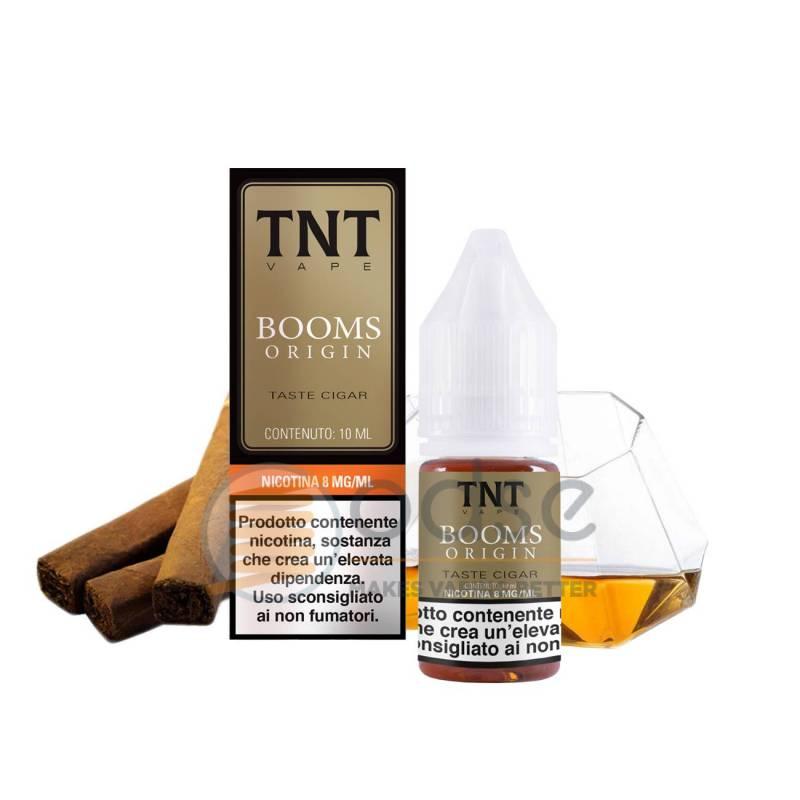 BOOMS ORIGIN LIQUIDO TNT VAPE 10 ML - Tabaccosi