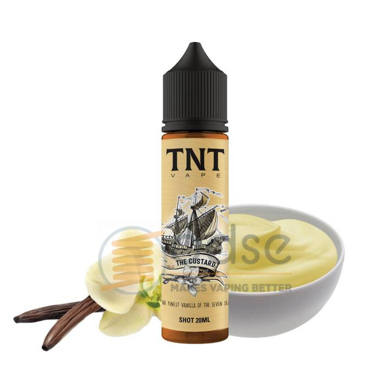 THE CUSTARD SHOT PASTRY TNT VAPE - Cremosi