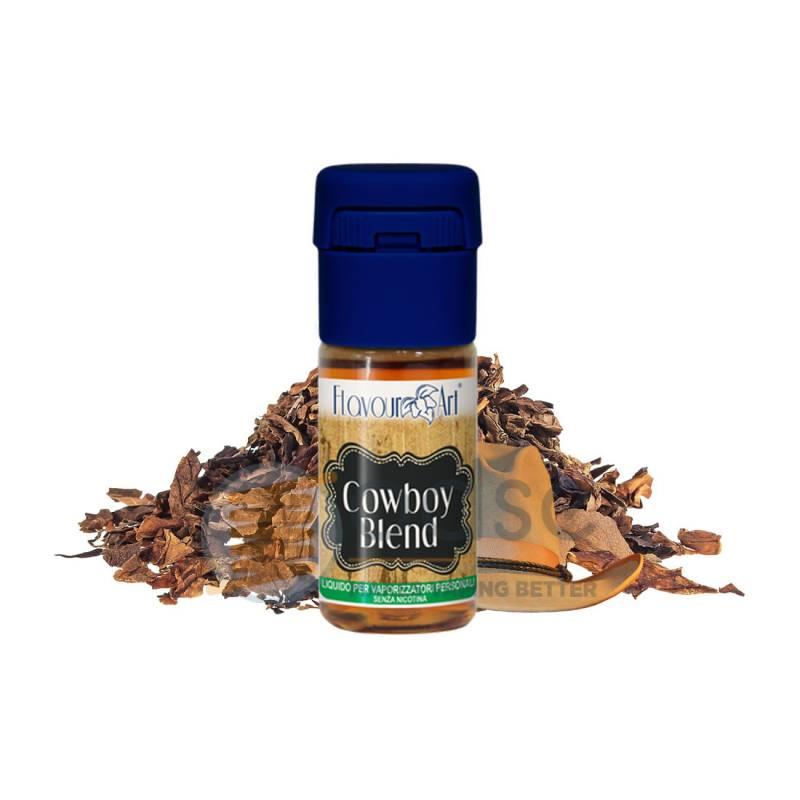 COWBOY BLEND LIQUIDO FLAVOURART 10 ML - Tabaccosi