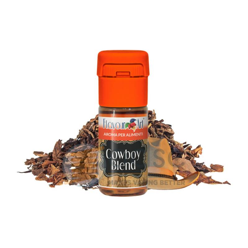 COWBOY BLEND AROMA FLAVOURART - Tabaccosi