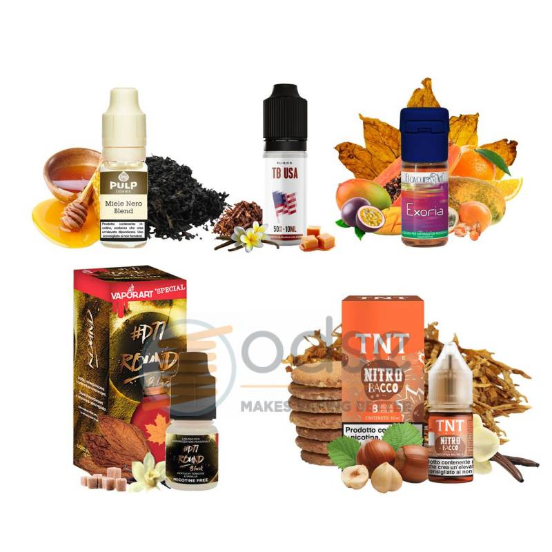 PACK TABACCHI DOLCI DISCOVERY - Discovery Pack