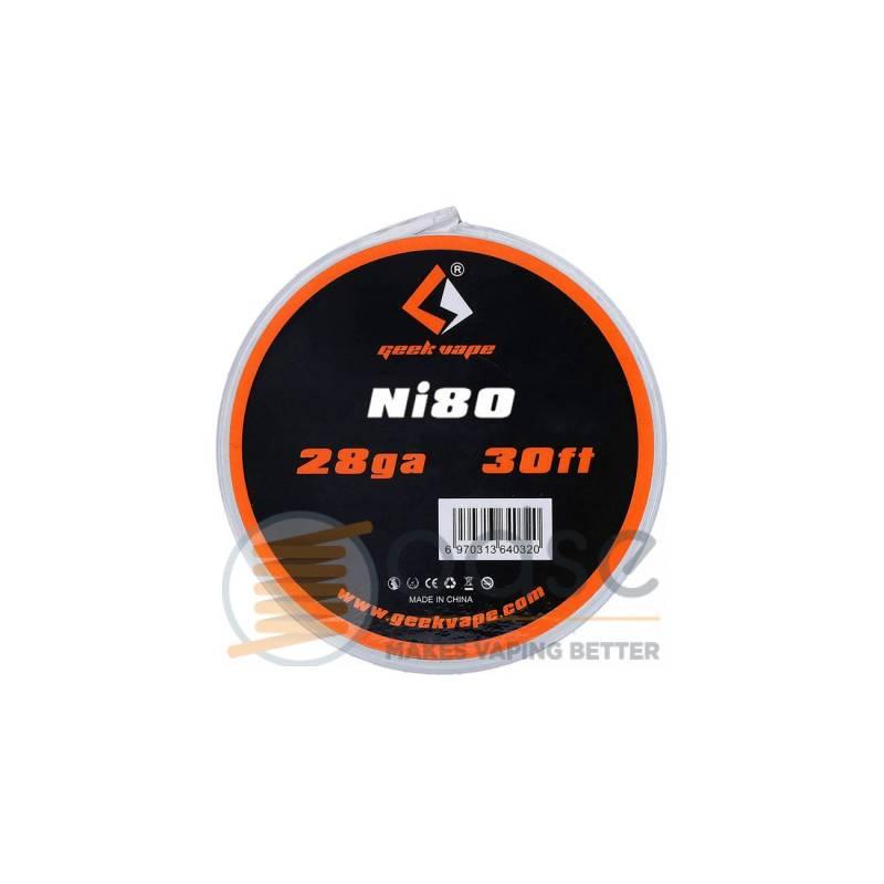 CAVO NICHROME NI80 GEEKVAPE - FILI E RESISTENZE