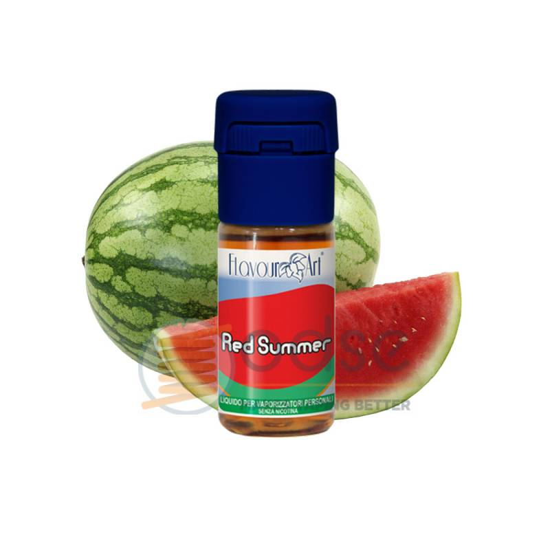 RED SUMMER LIQUIDO FLAVOURART 10 ML - PRONTI
