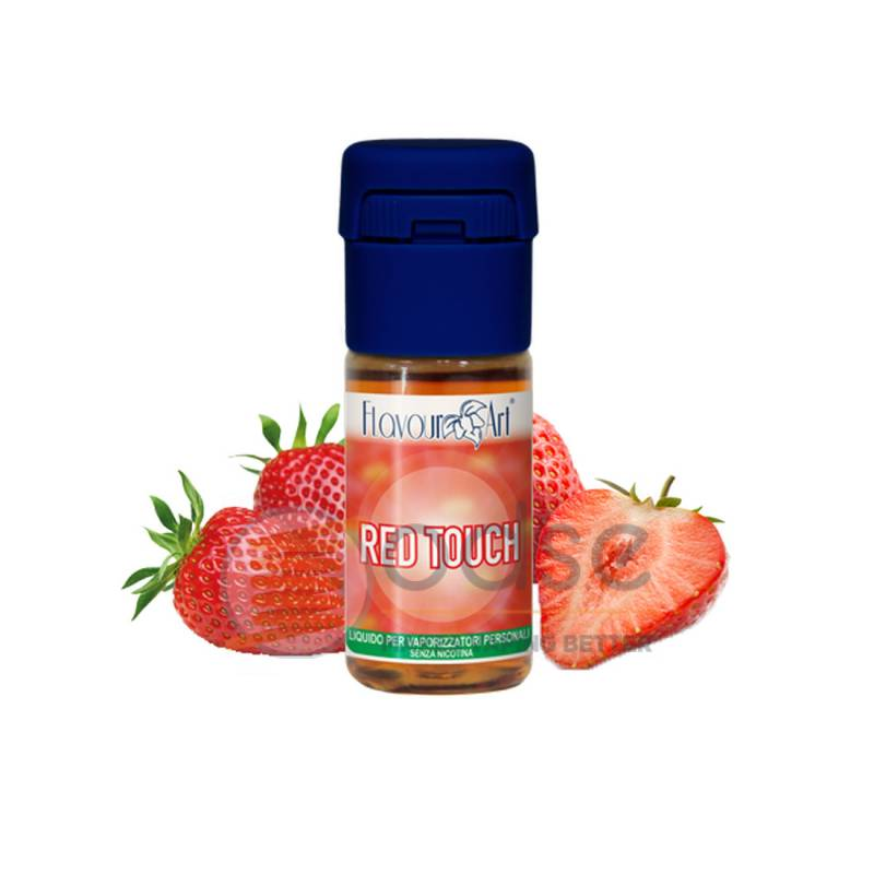 RED TOUCH LIQUIDO FLAVOURART 10 ML - PRONTI
