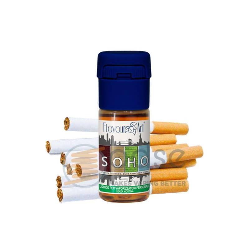 SOHO LIQUIDO FLAVOURART 10 ML - Tabaccosi