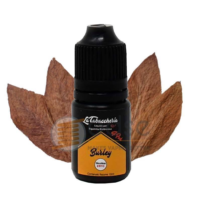 BURLEY LIQUIDO BLACK LINE 4POD LA TABACCHERIA 10 ML - Tabaccosi