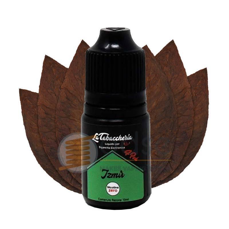 IZMIR LIQUIDO BLACK LINE 4POD LA TABACCHERIA 10 ML - Tabaccosi