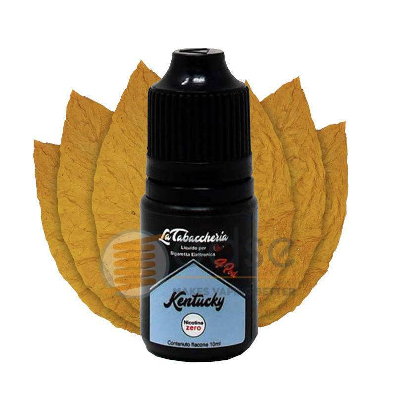 KENTUCKY LIQUIDO BLACK LINE 4POD LA TABACCHERIA 10 ML - Tabaccosi