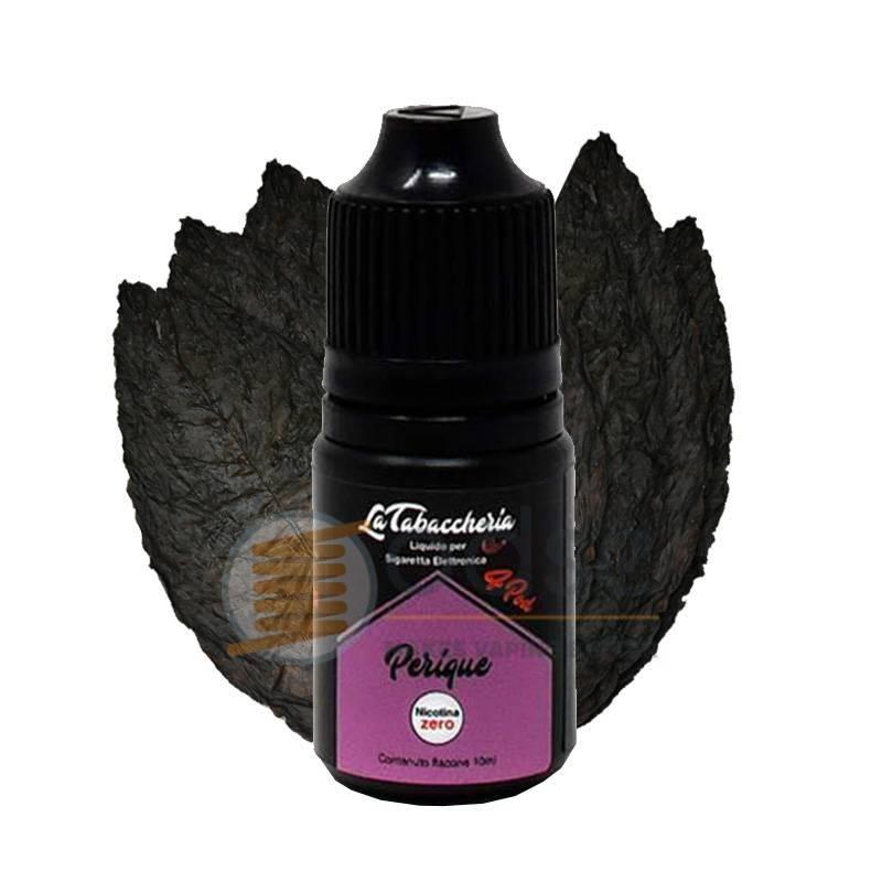 PERIQUE LIQUIDO BLACK LINE 4POD LA TABACCHERIA 10 ML - Tabaccosi