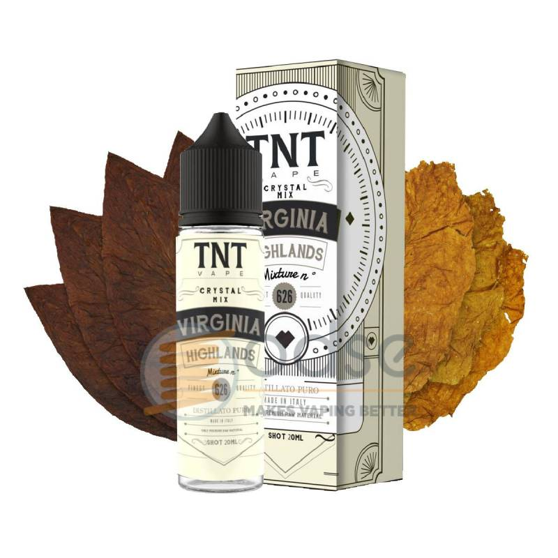 VIRGINIA HIGHLANDS 626 SHOT DISTILLATI TNT VAPE - Tabaccosi
