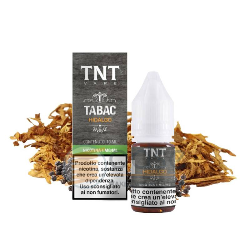 HIDALGO LIQUIDO TABAC TNT VAPE 10 ML - Tabaccosi