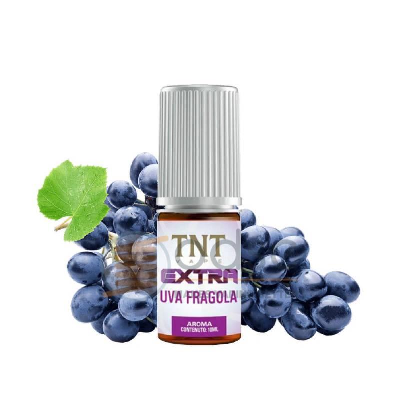 UVA FRAGOLA AROMA EXTRA TNT VAPE - Fruttati