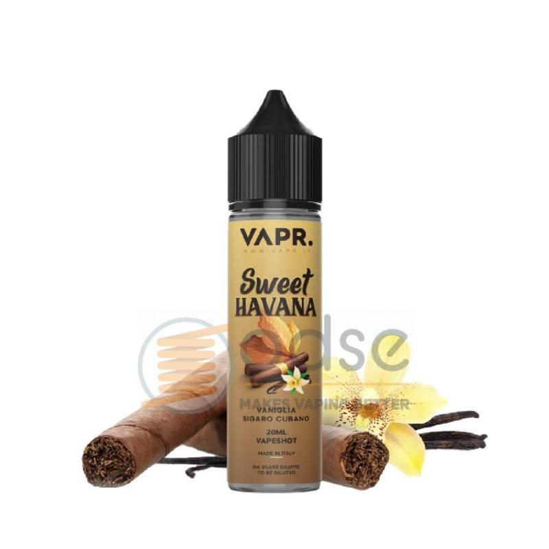 SWEET HAVANA SHOT VAPR. - Tabaccosi